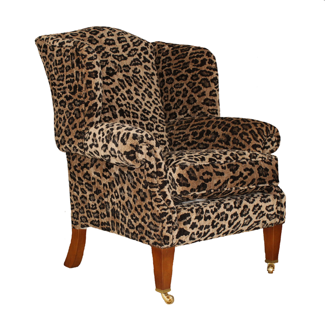 Кресло в ткани Duresta Somerset Wing Chair