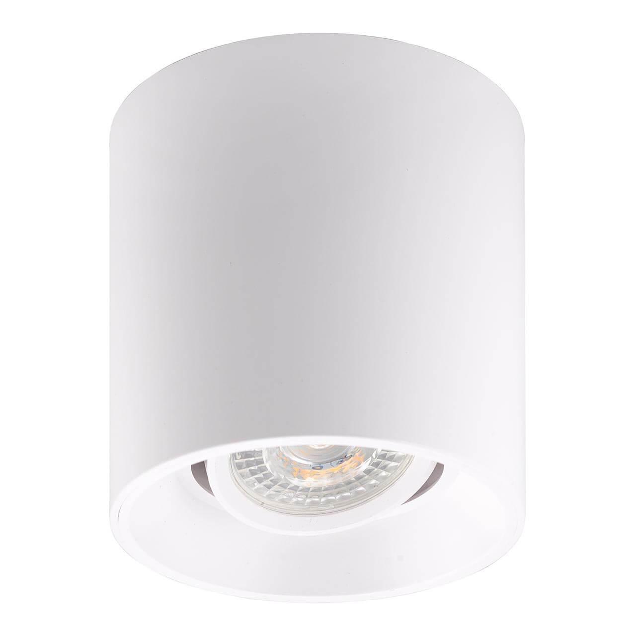 Накладной точечный светильник белый